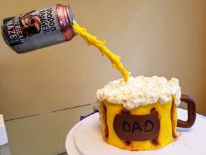Dad Beer Cake